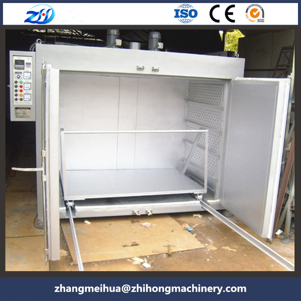 Large type transformer hot air circulation oven