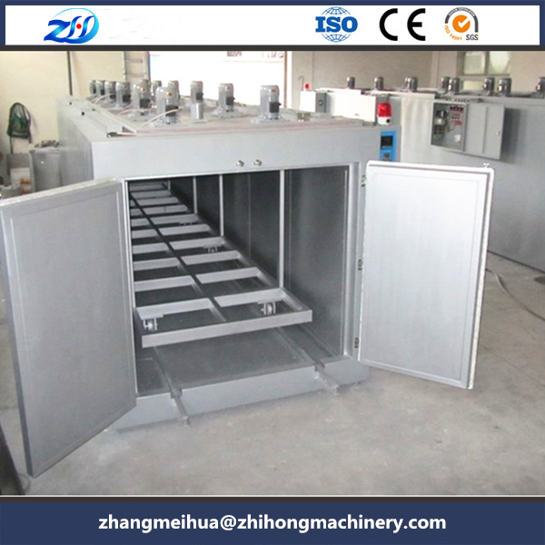 Mould pre-heated hot air drying oven