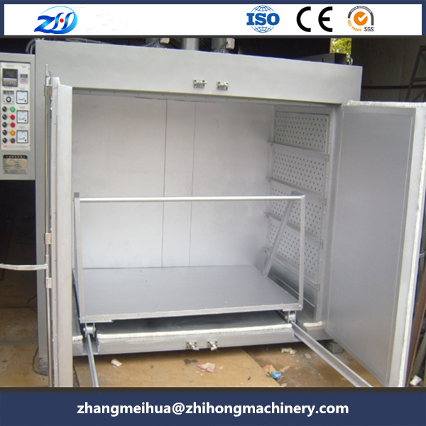 Motor impregnation coil drying oven