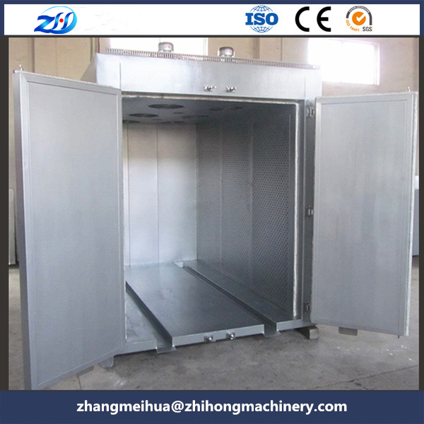 High temperature hot air oven for motor coil