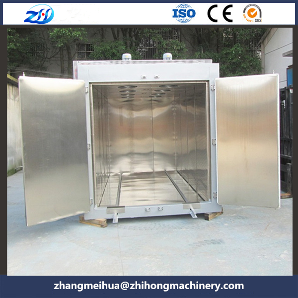 Motor coil hot air drying oven