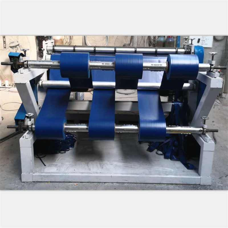 Full Automatic PVC PE Nonwoven Fabric Slitter Rewinder Machine